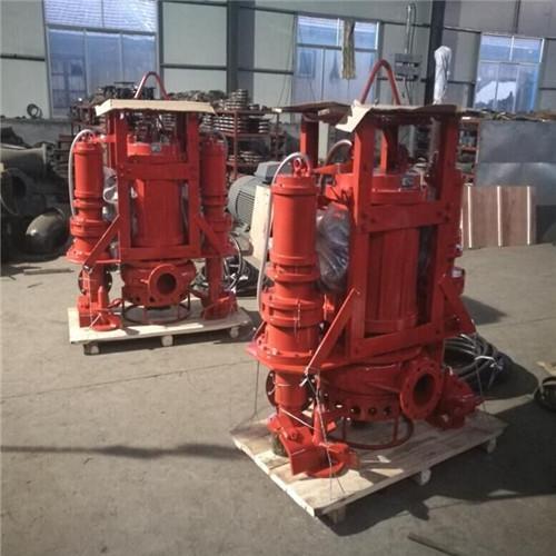 Heavy duty submersible agitator sand pump 5