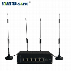 yinuolink industrial high speed 4g wireless router support virtual DMZ