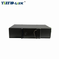 yinuolink 5 port 100m industrial unmanaged ethernet switch with large capacity