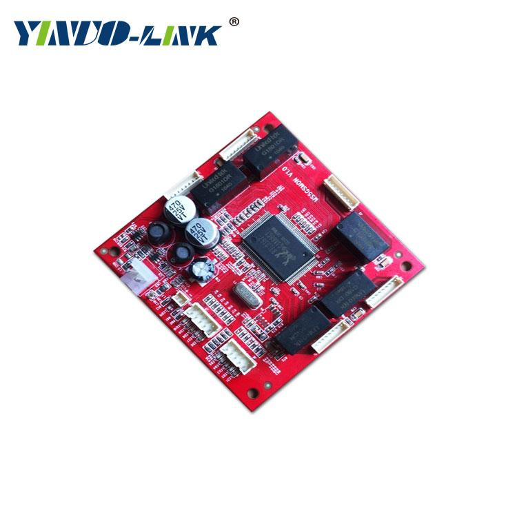 yinuo-link unmanaged commercial five port gigabit Ethernet switch core module 2