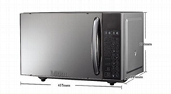 Light wave microwave oven