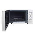 Rotary microwave oven
