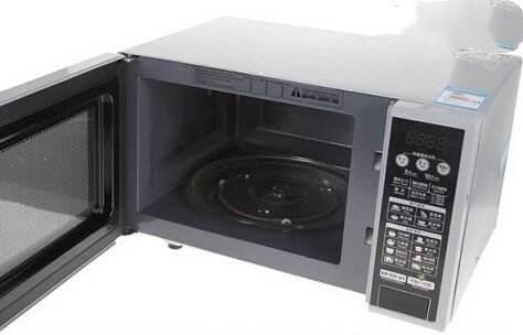 Rotary microwave oven 2