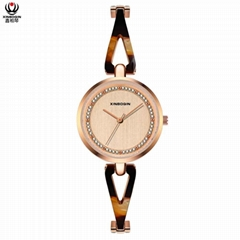 XINBOQIN Dropshipping Custom Made Latest Model Personalised Quartz Acetate Watch