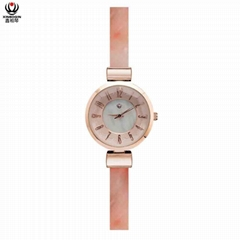XINBOQIN Supplier Custom LOGO Wholesale Original Women Quartz Acetate Lady Watch