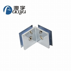 Wholesale high quality 90 degree glass fitting corner clamp