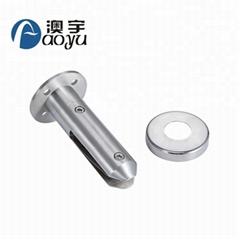 Factory price frameless stainless steel glass railing spigot