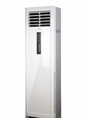 Water cooled cabinet type air conditioning