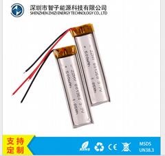【厂家供应】801350/500mAh 3.7V 认证齐全 UN38.3 聚合物锂电池