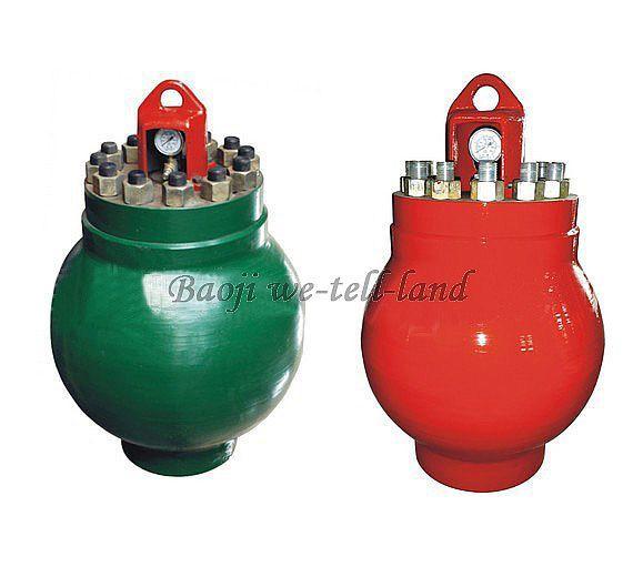 F13001600泥浆泵配件 空气包总成KB75/KB45 2