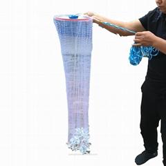單層粘魚網