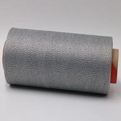 ESD Carbon Conductive fiber 20D wrap  DTY 140D nylon filaments XT11881