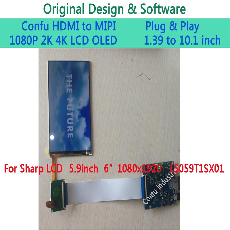 Confu HDMI to MIPI DSI Driver Board for Sharp 5 9 inch 1080P