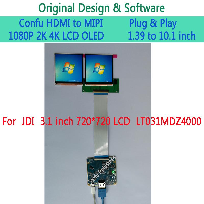 Confu HDMI to MIPI DSI Board for JDI LT031MDZ4000 3 1 inch
