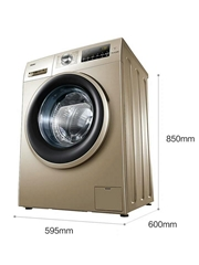 Blue crystal frequency conversion drum washing machine