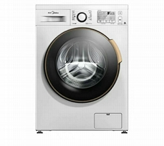 Automatic household washing machine