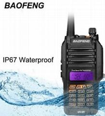 BaoFeng Dual Band IP67 Waterproof Radio equipment BF-UV9R walkie talkies