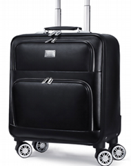16 inch business suitcase