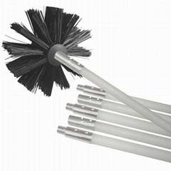 Brush Cleaner Dryer Vent Kit 12 Feet Ventilation Cleaner Set With Brush