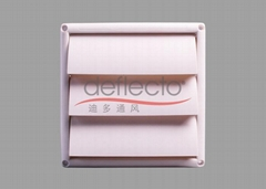Plastic Air Vent Cover Louver Hood HVAC Product Vent Fittings Plastic Product