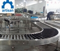 Roller conveyor product line with lift equipment