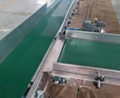 Automatic Plastic Steel Chain Plate Belt Conveyor for Beverage Cosmetic