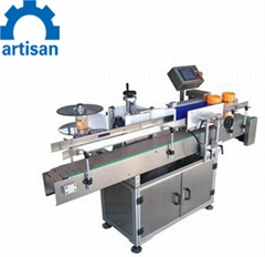 Round Bottle Jars Cans Bottle Labeling Machine Labeller