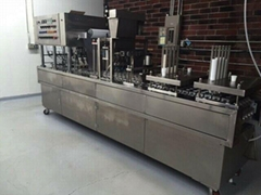 automatic cup putting Kcup filling sealing machine plastic cup packing machine