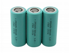LFP Rechargeable Battery 3.2V 3600mAh