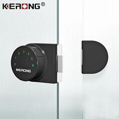 Electric Digital Furniture Password Keypad Double Door Glass Cabinet  Lock