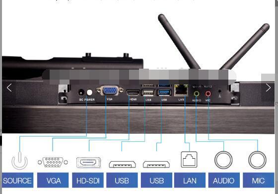 超薄高質量觸摸屏一體式PC機 5