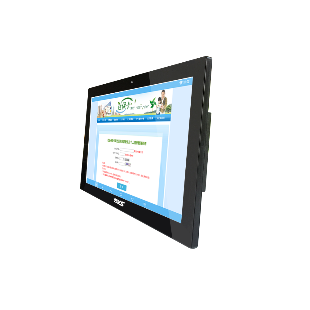 Capacitive 10 points 21.5 inch embedded industrial computer 2