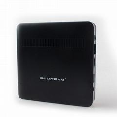 Ubuntu系統DDR3 2GB RAM瘦客戶端微型計算機