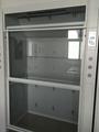 CE Approved All Steel Fume Cabinet Walk-in Laboratory Fume Cupboard Floor Mounte 1