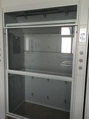 CE Approved All Steel Fume Cabinet Walk-in Laboratory Fume Cupboard Floor Mounte