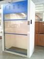 CE Approved All Steel Fume Cabinet Walk-in Laboratory Fume Cupboard Floor Mounte 2