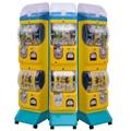 Two layer capsule toy vending machine gacha machine with display 3