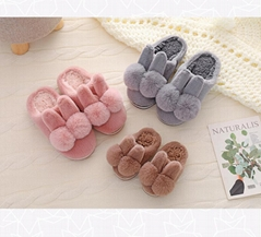 Baby warm fur slippers