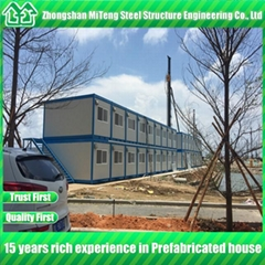 China Light Steel House Container Expandable Container House used for Hotel and