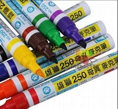 雄狮250油性奇异记号笔