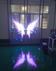 透明LED顯示屏P3.91櫥窗新媒體玻璃幕牆利器