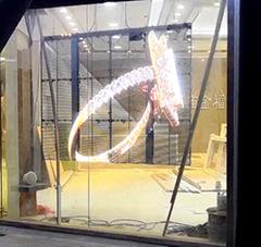 珠寶店LED透明屏