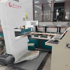 木工皮帶鋸  數控帶鋸機 電腦線鋸機華洲廠家供應