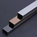 stainless steel tile trim 304 hairline u channel tile trim for decoration