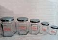 供应生产380ml六棱玻璃瓶 2