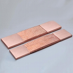 Manufacturer Flexible Braided Copper Tin Covered BusbarLow Price Connector High