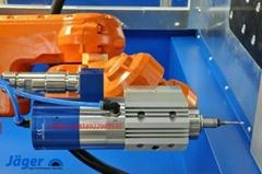 德國Jager輪胎模鑽孔設備輪胎模具刻字機電主軸