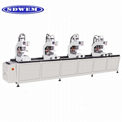 PVC profile machine UPVC window and door making machine with Factory price