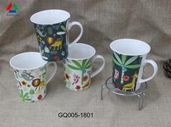 Personalized 11oz new bone china mug for sale