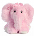 qiuyoujuan Pink Elephant Bear Toy